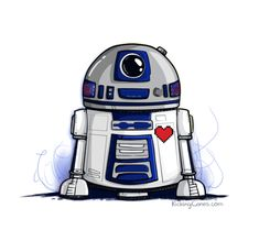 These 25 funny valentines celebrate the upcoming holiday with plenty of geeky jokes about Star Trek, Star Wars, Lord of the Rings, video games, and more. Star Wars Droiden, Star Wars Party, Star Wars Quotes, Star Wars Humor, Star Wars Fan Art, Star Wars Karikatur, Diy Star, Watercolor Paintings, Backgrounds