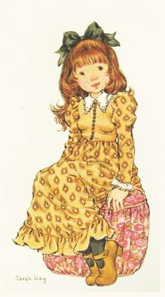 Sara Kay, Sweet Pic, Holly Hobbie, Creative Pictures, Illustrations, Doll Head, Australian Artists, Cute Characters, Cute Illustration