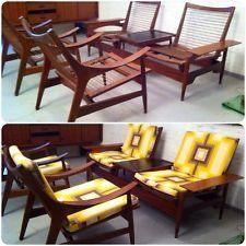 датский середины века диван 2 кресла дизайн вегнер? тикового дерева современные…