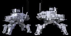 ArtStation - M1151-W , John Mesplay
