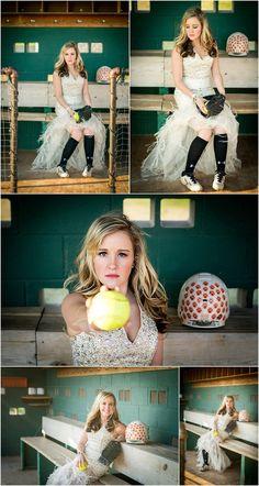 Stillwater Oklahoma Senior Portrait Photographer | Softball and Prom Dress Senior Poses | Captured By Karly