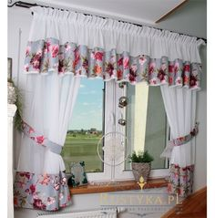 Home Curtains, Vintage Kitchen Curtains, Curtains Living Room, Diy Curtains, Small Balcony Decor, Luxurious Bedrooms, Curtain Designs For Bedroom, Curtain Styles, Pinterest Room Decor