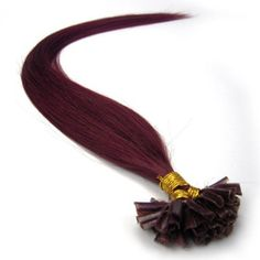 """Lilu 100s Fashion Pre Bonded Nail U Tip Remy 100% Real Human Hair Extensions (18"""" inch, Bug) >>> Read more reviews of the product by visiting the link on the image."""