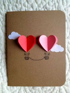 Wedding Anniversary Cards: Love Is In The Air...