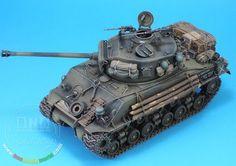 Plastic Model Kits, Plastic Models, Tank Fury, Sherman Tank, Model Tanks, Military Weapons, Tamiya, World War Ii, Scale Models
