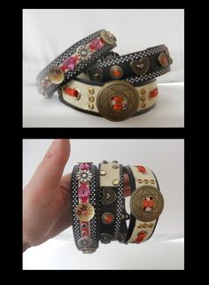 Awesome designer dog collars More DickiDora Collaz Designer Dog Collars, Dog Jewelry, I Love Lucy, Dog Accessories, Dog Design, Puppy Love, Bangles, Fancy, Puppies