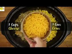 Slow Cooker Cheesy Chicken and Rice (Crock Pot Recipe) - YouTube