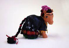 My little Frida Kahlo pony