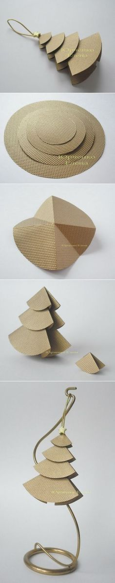 Мастерим ёлочку из бумаги | Наш дом