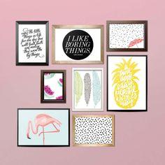 FREE PRINTABLES für deine Gallery Wall