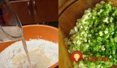 Múka, voda a jarná cibuľka. Neuveríte, aká pochúťka z toho spojenia môže vzniknúť! Learn To Cook, Guacamole, Tacos, Picnic, Appetizers, Mexican, Favorite Recipes, Pizza, Cooking