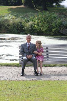 September 2, 2012, Prince Phillipe and Princess Elisabeth.
