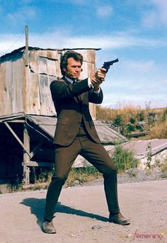 Dirty Harry, Clint Eastwood, 1971 People Photo - 30 x 46 cm Actor Clint Eastwood, Scott Eastwood, Martin Scorsese, Stanley Kubrick, Alfred Hitchcock, Movie Photo, Movie Tv, Peliculas Western, Image Film
