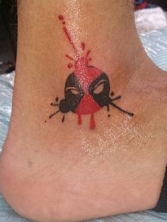 cute deadpool tattoos - Google Search