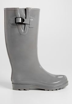 Grace solid rain boot in gray (original price, $34.00) available at #Maurices