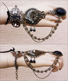 Tribal Gypsy bracelet - Check out her facebook for more!