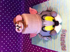 Tom & Jerry Cake www.nuvoldesucre.com