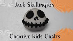 How to make Jack Skellington out of Clay!!