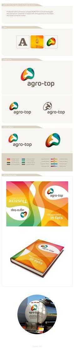 agro-top identity by Piotr Ciesielski, via Behance