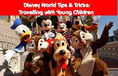 Disney World Tips and Tricks: 10 Tips for planning a vacation with children 5 and under #MinnieBox # MVdisneydays
