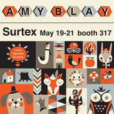 print & pattern: SURTEX 2013 - amy blay
