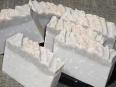 Spa Retreat Soap / Himalayan Pink Sea Salt / Brazilian Clay / Cold Process Soap