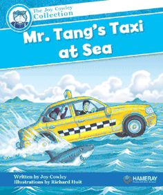 $5.95 Mr. Tang's Taxi at Sea - Part of the Blue Series: Mr. Tang's taxi can float. So Mr. Tang makes it into a boat!