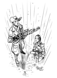 I know he can be pesky, but I don't mind Preston Garvey. His dumb outfit and comically oversized rifle are endearing. Then again, I tend to like characters who are trying to keep order in a chaotic world.