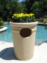 Kutstone Patio Ashtray And Trash Receptacle 4 Sizes And 5 Finishes