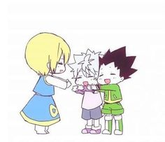 Kurapika, Killua, and Gon        ~Hunter X Hunter