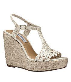 Steve Madden Manngo Wedge Sandals #Dillards