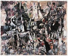 Painter Jean Paul Riopelle has been termed an abstract-expressionist. In 1958 he received the Guggenheim award; in 1962 the Unesco prize; in 1973 the Philippe Hebert Prize; and the Companion of the Order of Canada. Contemporary Paintings, Abstract Paintings, Art Paintings, Order Of Canada, Canadian Art, Modern Artists, Abstract Pattern, Abstract Expressionism, Painting & Drawing