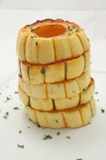 Baked Delicata Squash Rings - Not just a pretty dish. It's pretty tasty, too! www.ultimatedanielfast.com