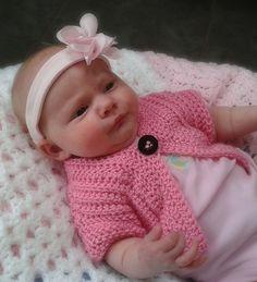 Ravelry: Sweet Pea Sweater - Newborn to 3 Years pattern by Laura Tegg