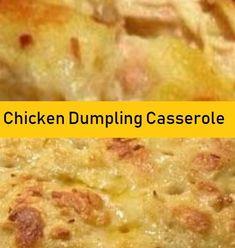 Easy Baked Chicken to Die For - Food Menu Chicken Dumpling Casserole, Chicken And Dumplings, Casserole Dishes, Casserole Recipes, Zucchini Casserole, Easy Baked Chicken, Fried Chicken Recipes, Cheesy Chicken, Chicken Receipe