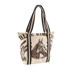The Leona Handbag in Natural Horse, Cotton Duck Canvas Equestrian Style, Show Horses, Handbag Accessories, Fashion Boutique, Cool Style, Reusable Tote Bags, Handbags, Leather, Gifts