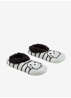 254248d7bf61 Hot Topic   Harry Potter Hedwig Slip-On Cozy Slippers Hedwig