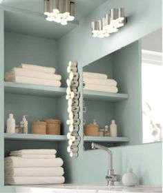 You won't soon forget the fashion-forward aesthetic of the Södersvik lamp series, inspired by pearl necklaces. The modern bathroom lighting includes a ceiling lamp ($80), wall lamp ($80), and cabinet/wall lighting ($80). Source: Ikea