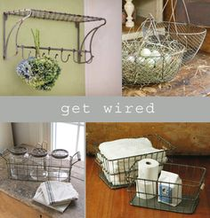 farmhouse musings: Get Wired