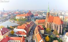 ...Wrocław w locie...