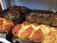 Shavuos pretzel challah