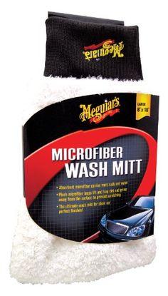 Meguiar's Microfiber Wash Mitt http://shorl.com/pragrabrenamumy