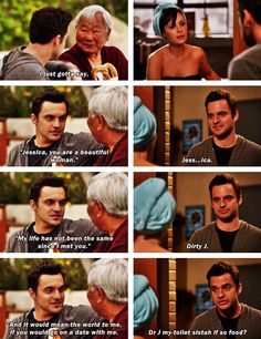 Nick Miller....this episode was awesome...and INCREDIBLY FRUSTRATING!
