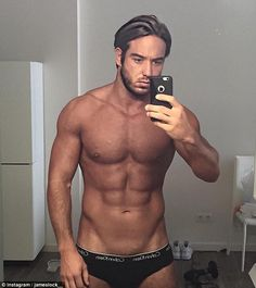 Sizzling: He's one of TOWIE's resident heartthrobs. So it came as no surprise to see James...