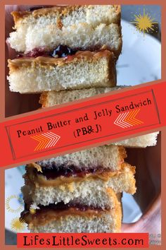 """1 reviews · 2 minutes · Vegetarian · Serves 1 · Peanut Butter and Jelly Sandwich (also called, """"PB Yummy Appetizers, Yummy Snacks, Yummy Food, Jelly Recipes, Sweets Recipes, Desserts, Homemade Turkey Soup, Homemade Peanut Butter, Peanut Butter Recipes"""