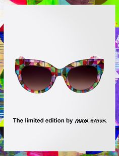 Max Mara LIMITED white: Limited Edition Optiprism Sunglasses.