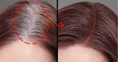 Scapă definitiv de firele albe cu acest remediu casnic natural - Secretele.com Face Hair, My Hair, Beauty Skin, Hair Beauty, Salvia, Hair Inspiration, Natural Remedies, Health Tips, Curly Hair Styles