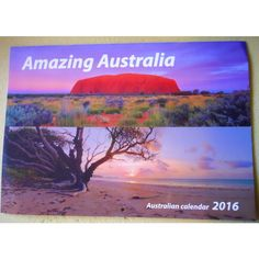 Amazing Australia ~ 2016 Pictorial Calendar ~ for the Dyfi Osprey Project House Clearance, Moving House, Auction Items, Charity, United Kingdom, Buy And Sell, Amazing, Alternative