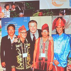 Petrus Asuy with @iamabfalecbaldwin and the other winner of Equator Prize Awards from Indonesia at Equator Prize Awards Ceremony in Paris on December 7, 2015. Petrus is an Dayak Benuaq Ohokng Sangokng. He is from Indigenous Community of Muara Tae...