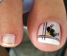 You searched for French pedicure - Nails Toenail Art Designs, Pedicure Nail Designs, Pedicure Nail Art, Toe Nail Art, Pretty Toe Nails, Cute Toe Nails, Hair And Nails, My Nails, Finger